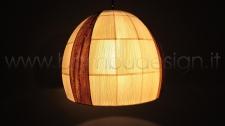 LAMPADA SOSPENSIONE IN MAIS APPLE GRANDE DIAM.50