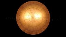 LAMPADA APPLIQUE UFO FOGLIE DI MAIS DIAM.50