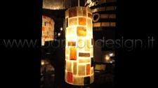 LAMPADA SOSPENSIONE TUBE SHELL KLIMT DIAM.12 H 30