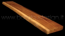 PEDANA/TOP/PIANO IN LEGNO LEGNO NATURALE SUAR 120X50 SPESSORE 7/8 CM.