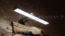 FARETTO SPECCHIO LED NEW L.30 30X12 H5
