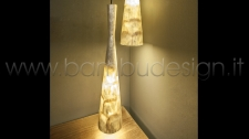 LAMPADA A SOSPENSIONE MADREPERLA - TEROMPET - SHELL H 46 CM