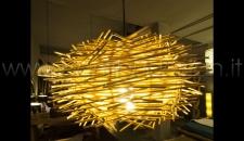 LAMPADA A SOSPENSIONE MIDOLLINO - NEST DIAM 38 H20 CM