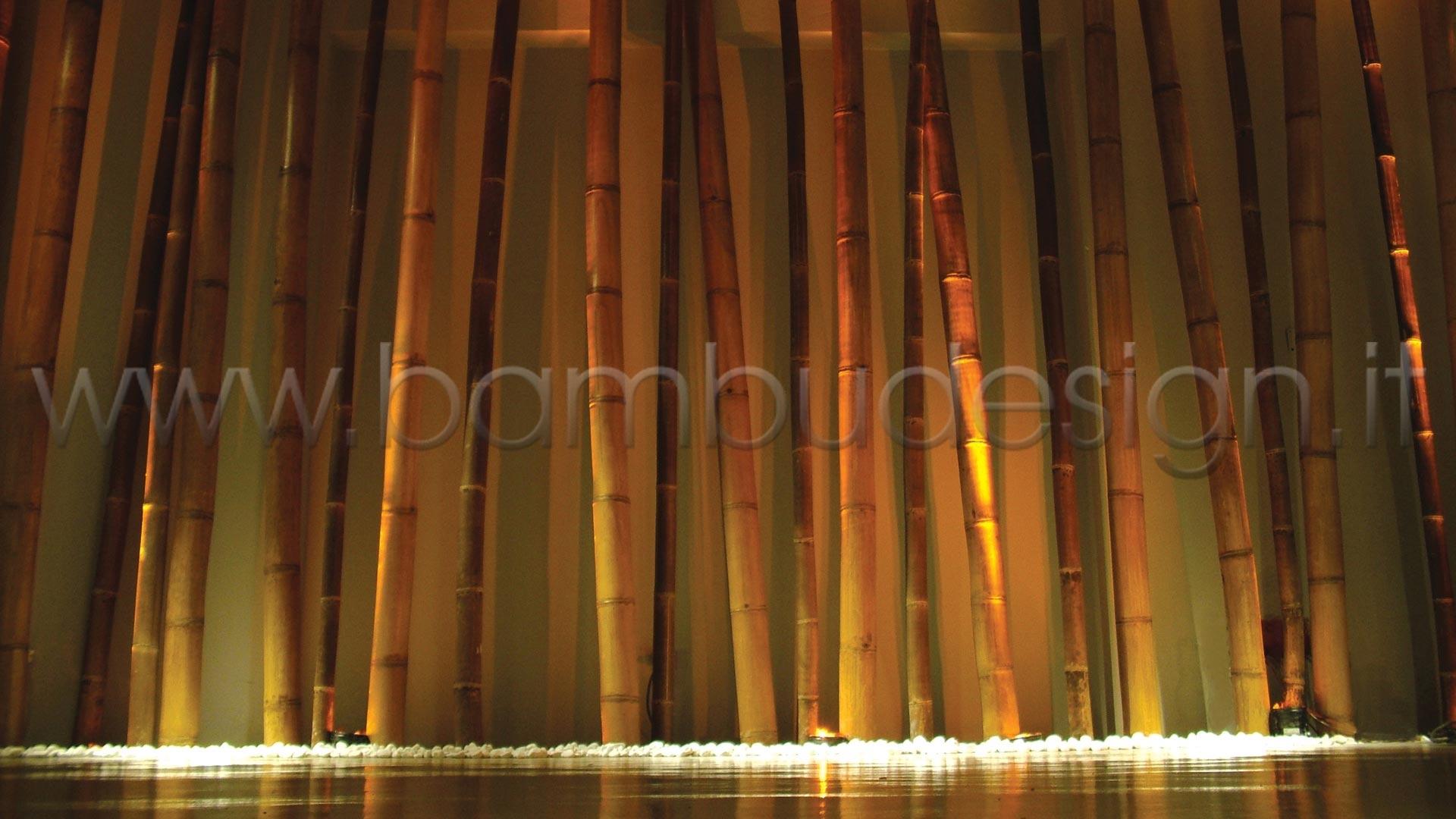 Canne di bambu 39 importazione diretta vari diametri for Arredamento bambu
