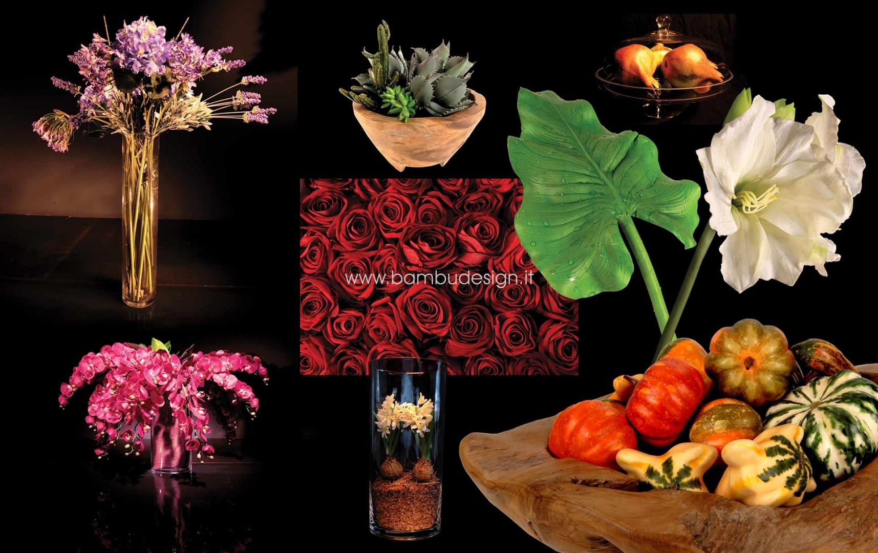 Fiori piante rami decorativi fibre naturali e - Rami decorativi per vasi ...